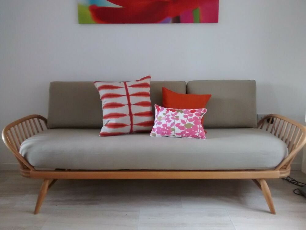 Cushions For Beautiful Ercol Day Bed Studio Couch Made To Order Other Colours Ebay