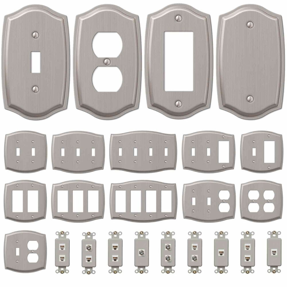 Wall Switch Plate Outlet Cover Toggle Duplex Outlet Gfci