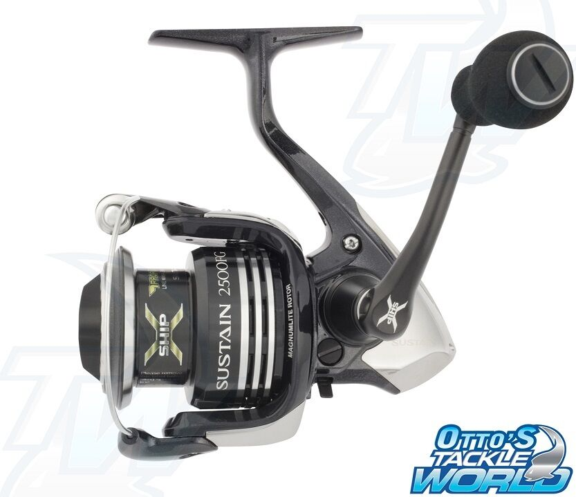 Shimano sustain 2500fg spinning fishing reel brand new at for Fishing reel brands