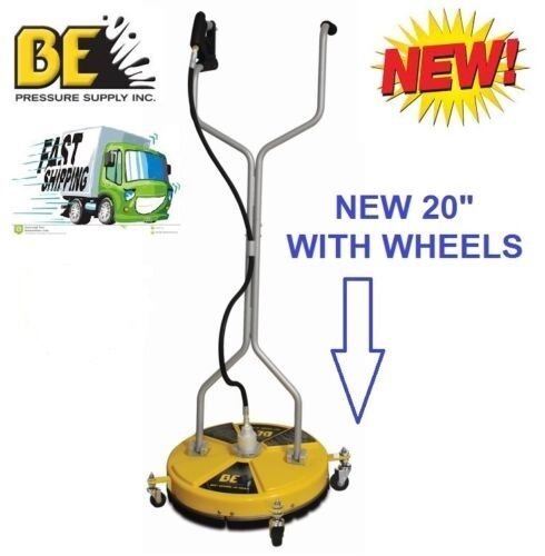 Be pressure whirl a way 20 39 39 flat surface cleaner washer for Best pressure cleaner for concrete