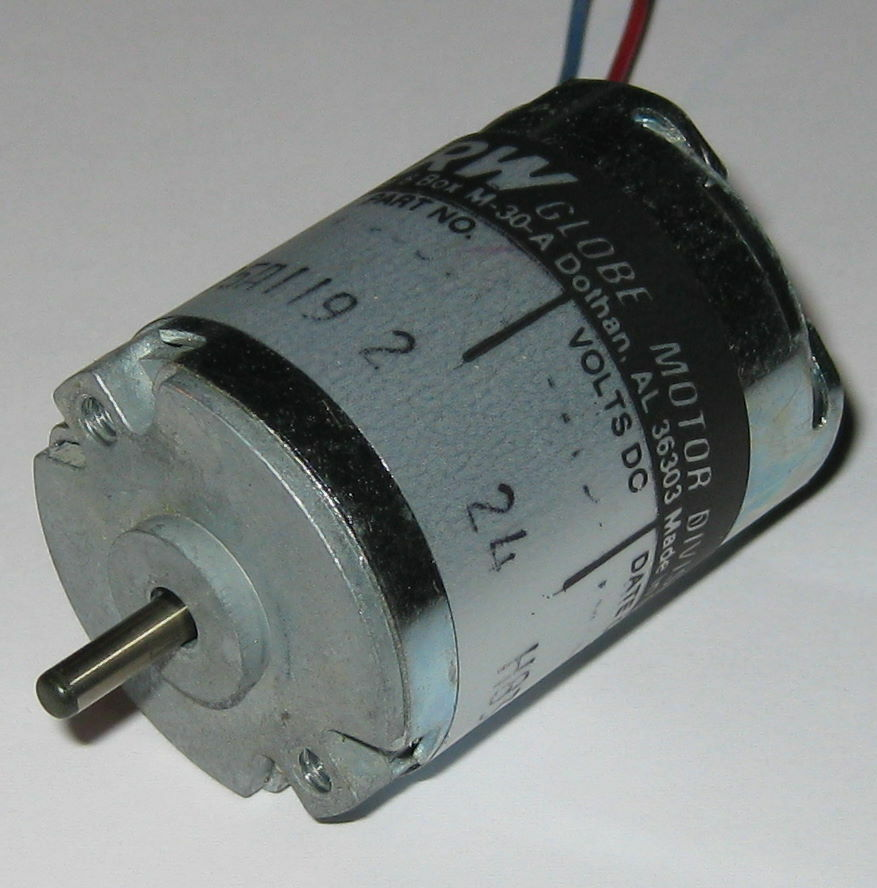 TRW Globe 405A Motor - 24 V - Permanent Magnet Motor - Made in USA - 5200 RPM | eBay