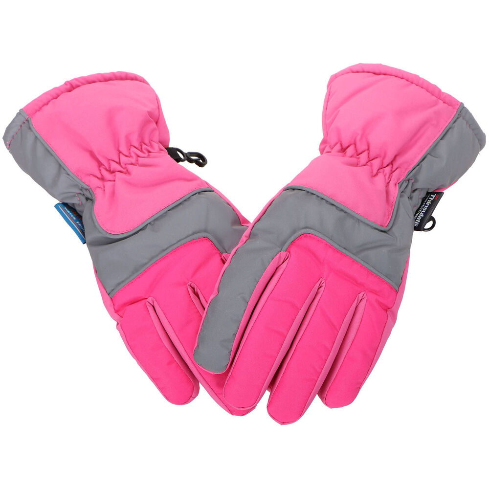 Kids Girls's Winter Warm Sports Windproof Waterproof Ski ...