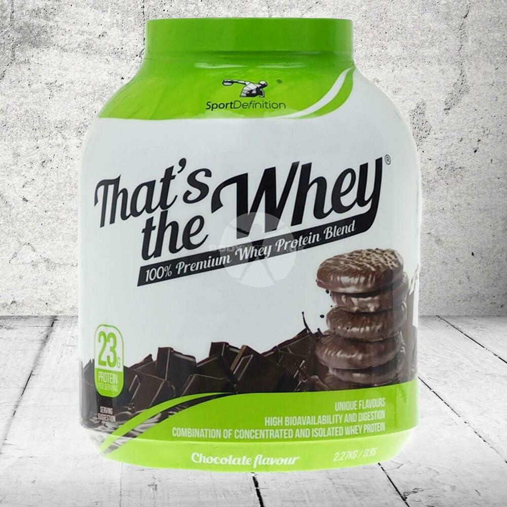 Whey Protein Powder That's the Whey by Sport Definition ...