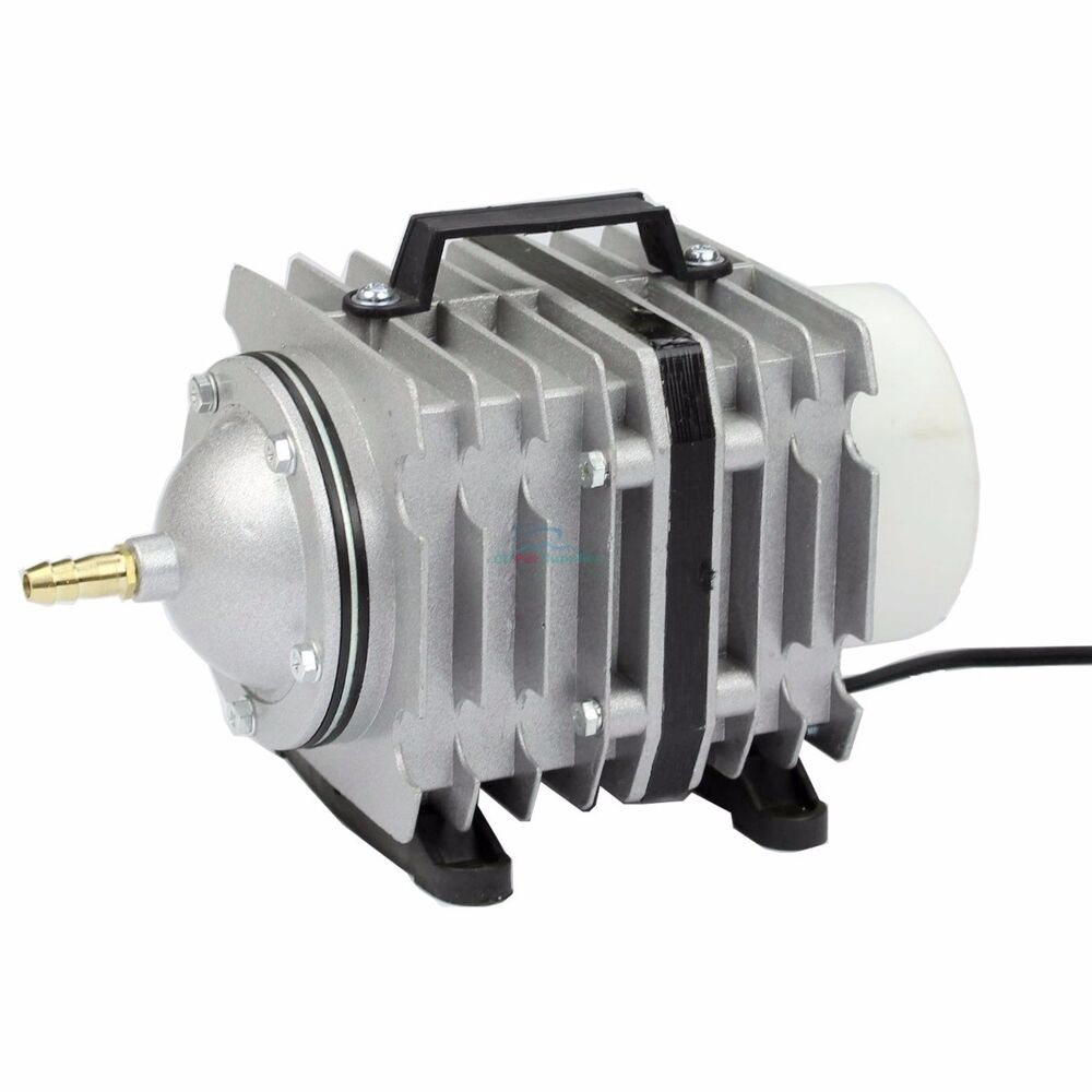 O2 commercial air pump 1585 gph aquarium hydroponics for Hydroponic air pump