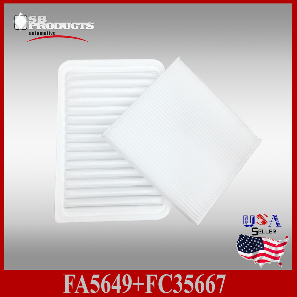 fa5649 fc35667 toyota engine cabin air filter camry venza 4cyl 2007 2. Black Bedroom Furniture Sets. Home Design Ideas