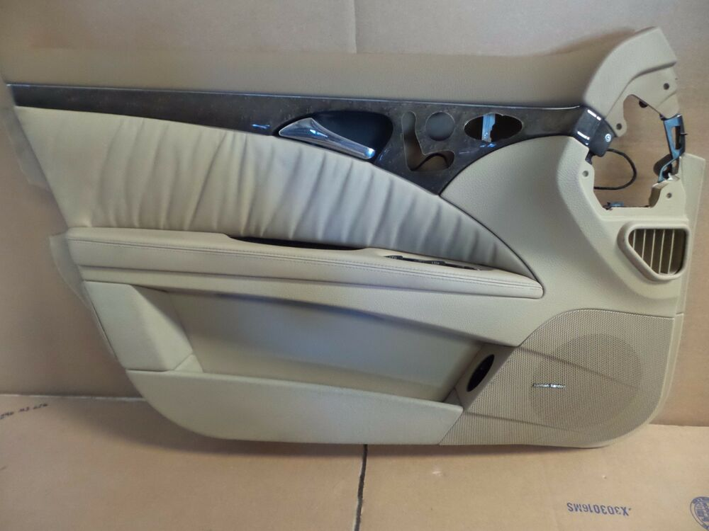 03 09 Mercedes W211 E63 Amg E320 E350 Left Driver Front Door Panel Molding Trim Ebay