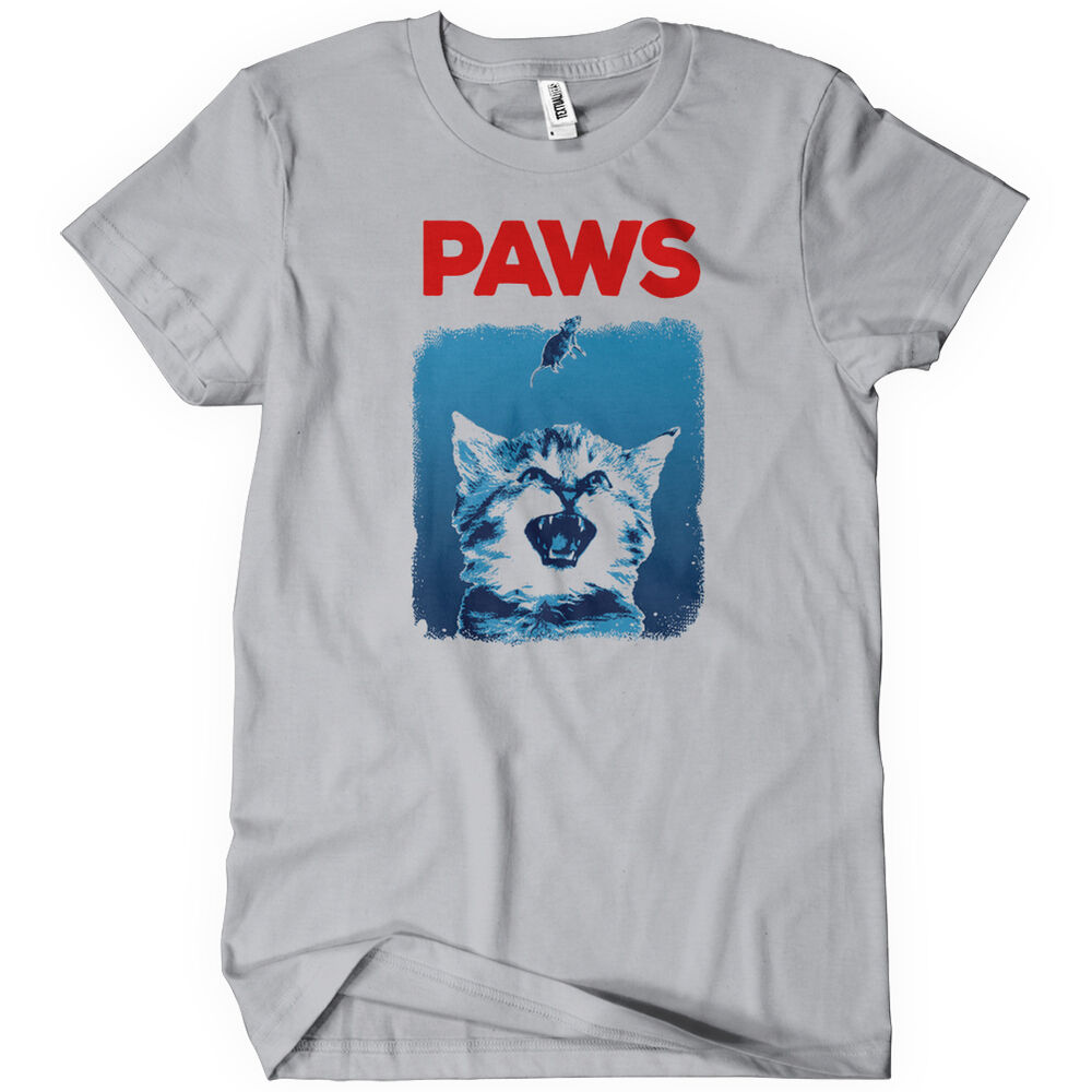 paws mens t shirt funny adult cotton tee sizes s 5xl ebay. Black Bedroom Furniture Sets. Home Design Ideas