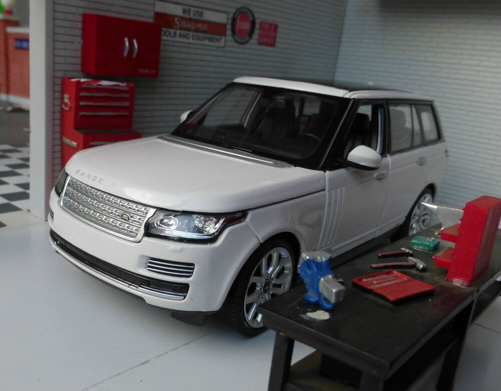 range rover l405 td6 4 4 v8 white hse vogue very detailed rastar diecast model ebay. Black Bedroom Furniture Sets. Home Design Ideas
