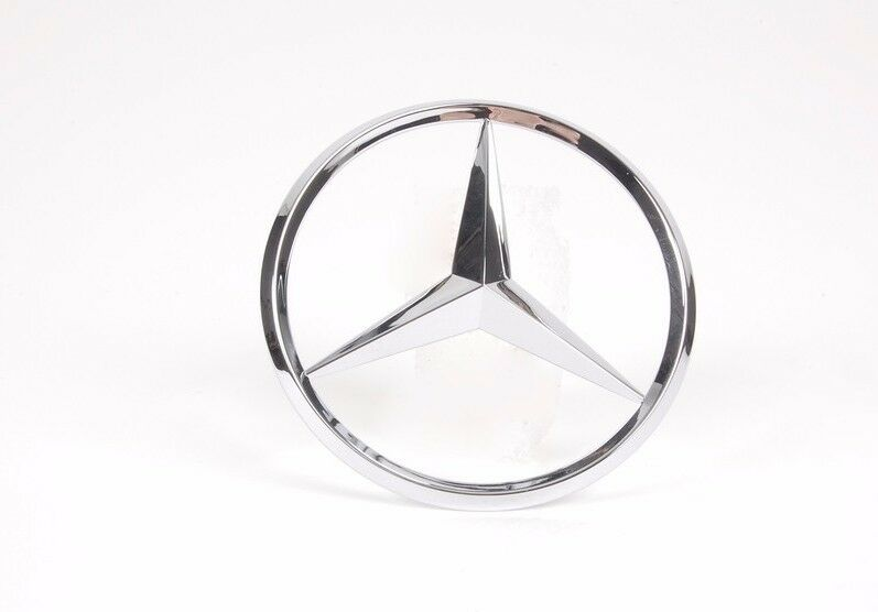 Mercedes benz cl clk slk class genuine emblem trunk star for Mercedes benz trunk emblem