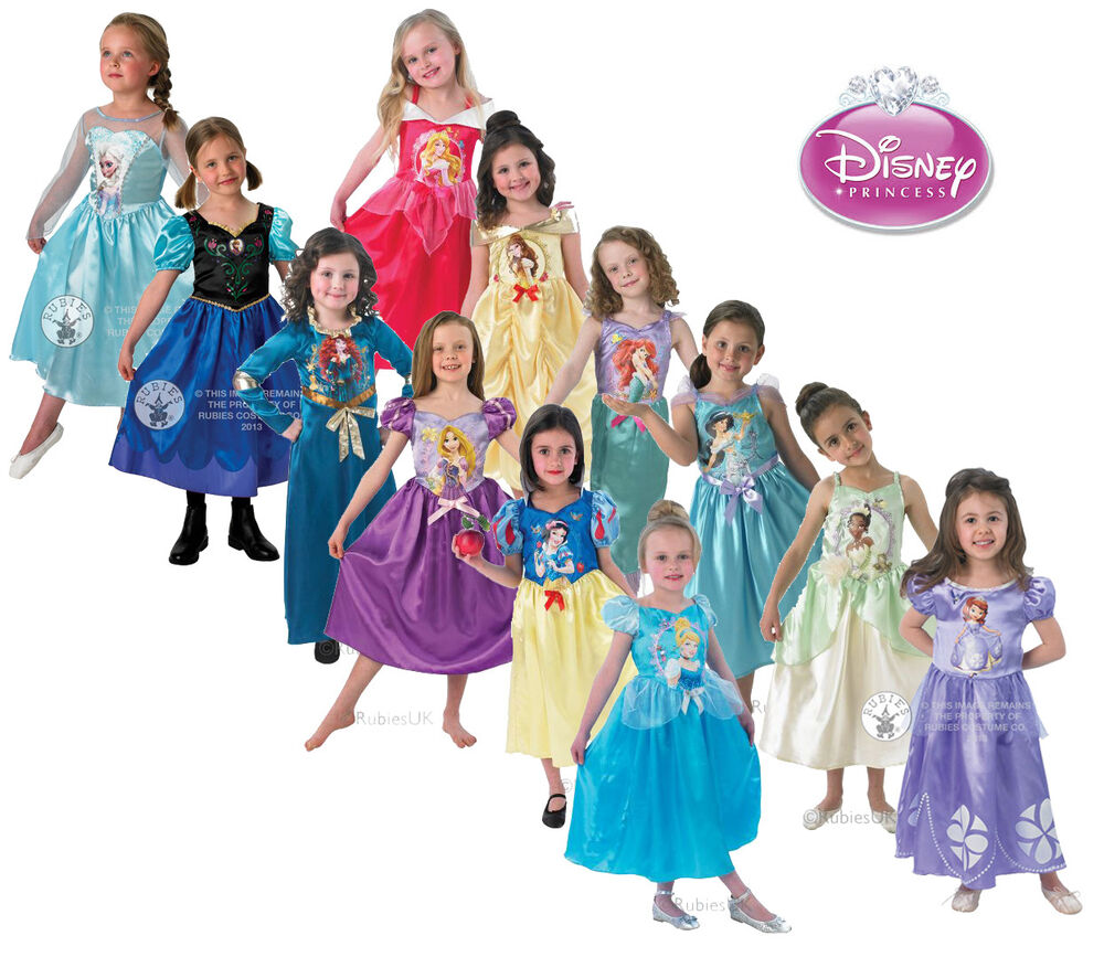 Dress Up: LOOK! Disney Princesses Princess Dress Up Fancy Dress