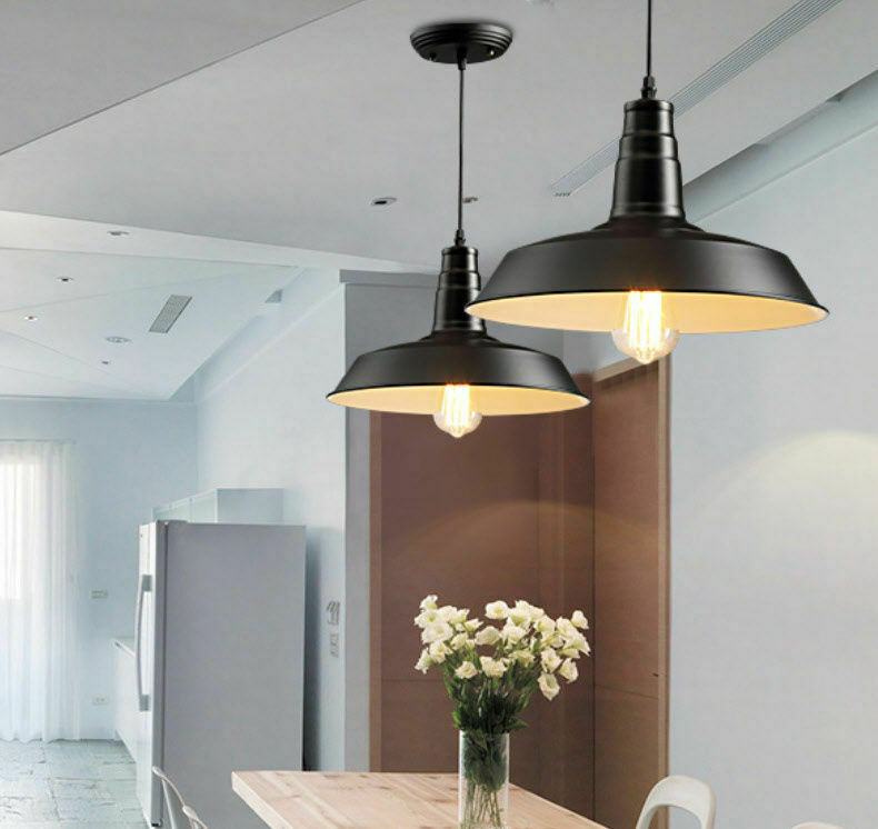 Lamp Shades For Ceiling Lights: Industrial Vintage Light Retro Pendant Lamp Shades Factory