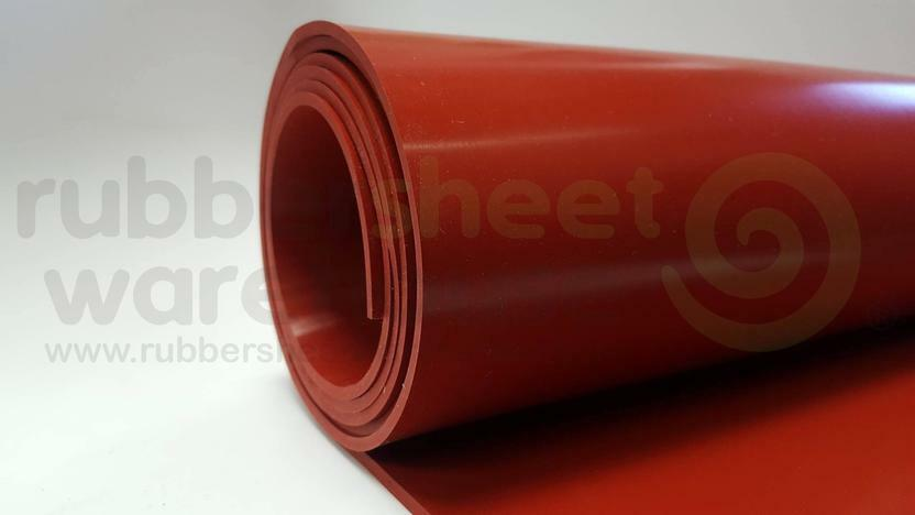 Silicone Rubber Sheet High Temp 1 8 Quot Thick X 3 Quot Wide X 36