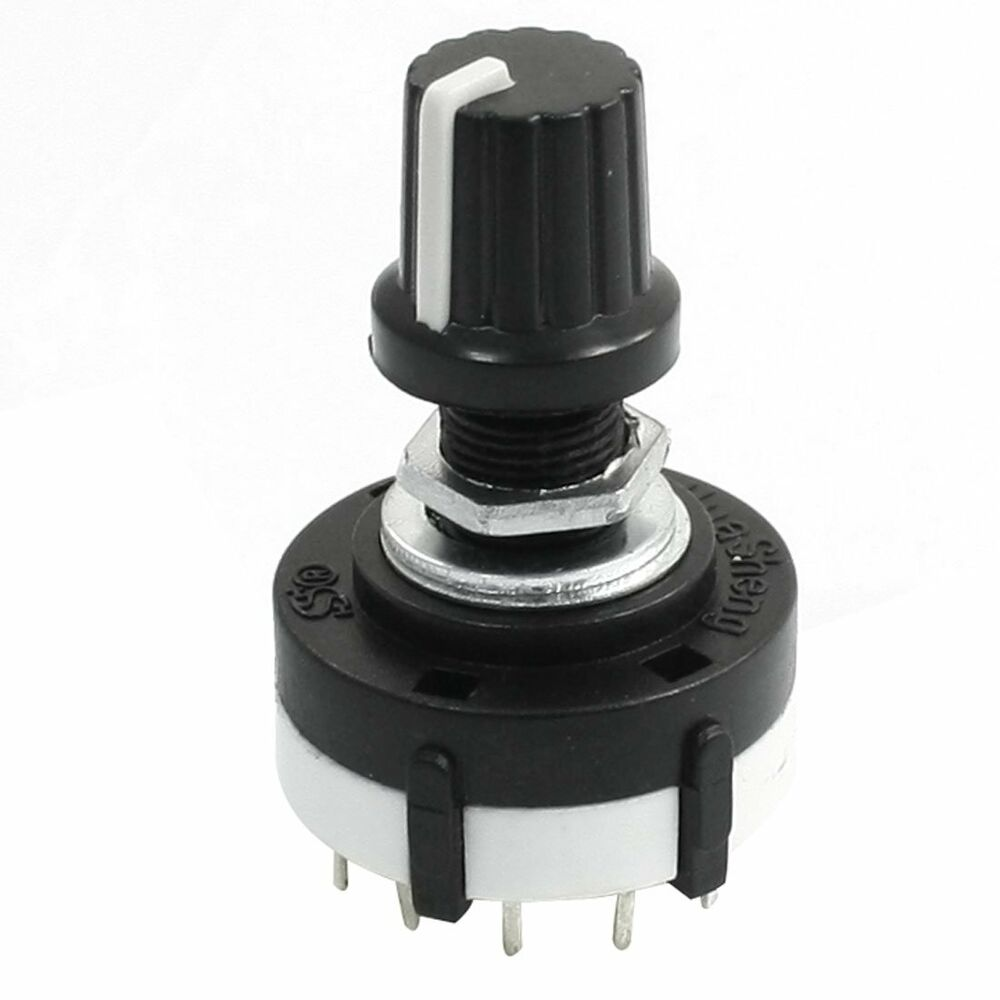 how to connect rotary switch