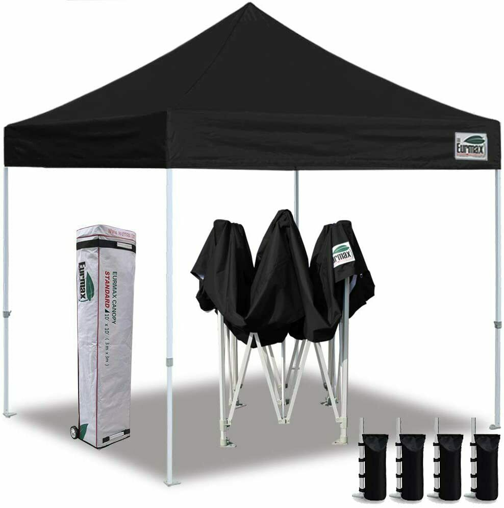 New Water Proof Ez Pop Up Canopy 10 X 10 Commercial