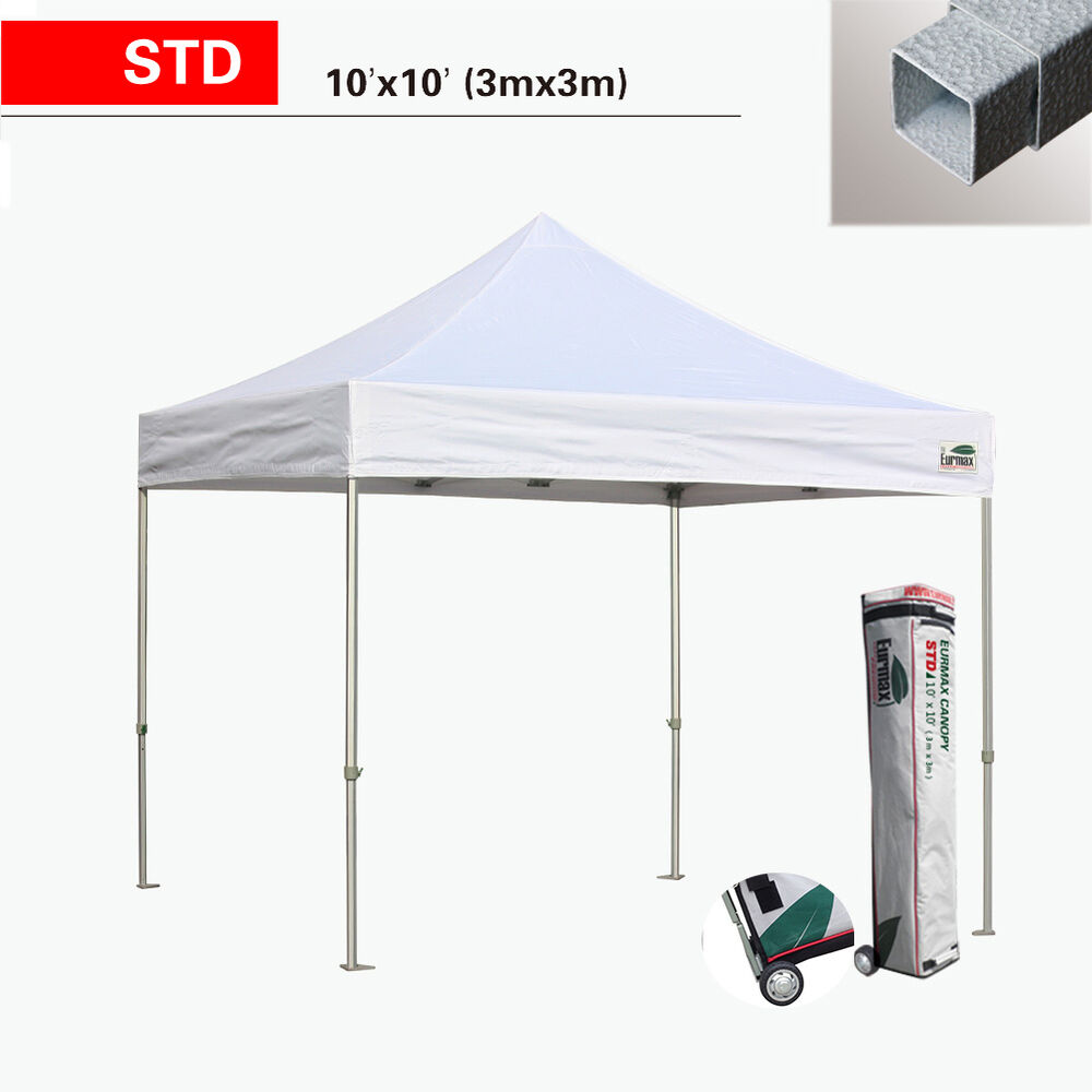 E Z Up Instant Shelter Parts : Ez pop up canopy std commercial vendor party outdoor