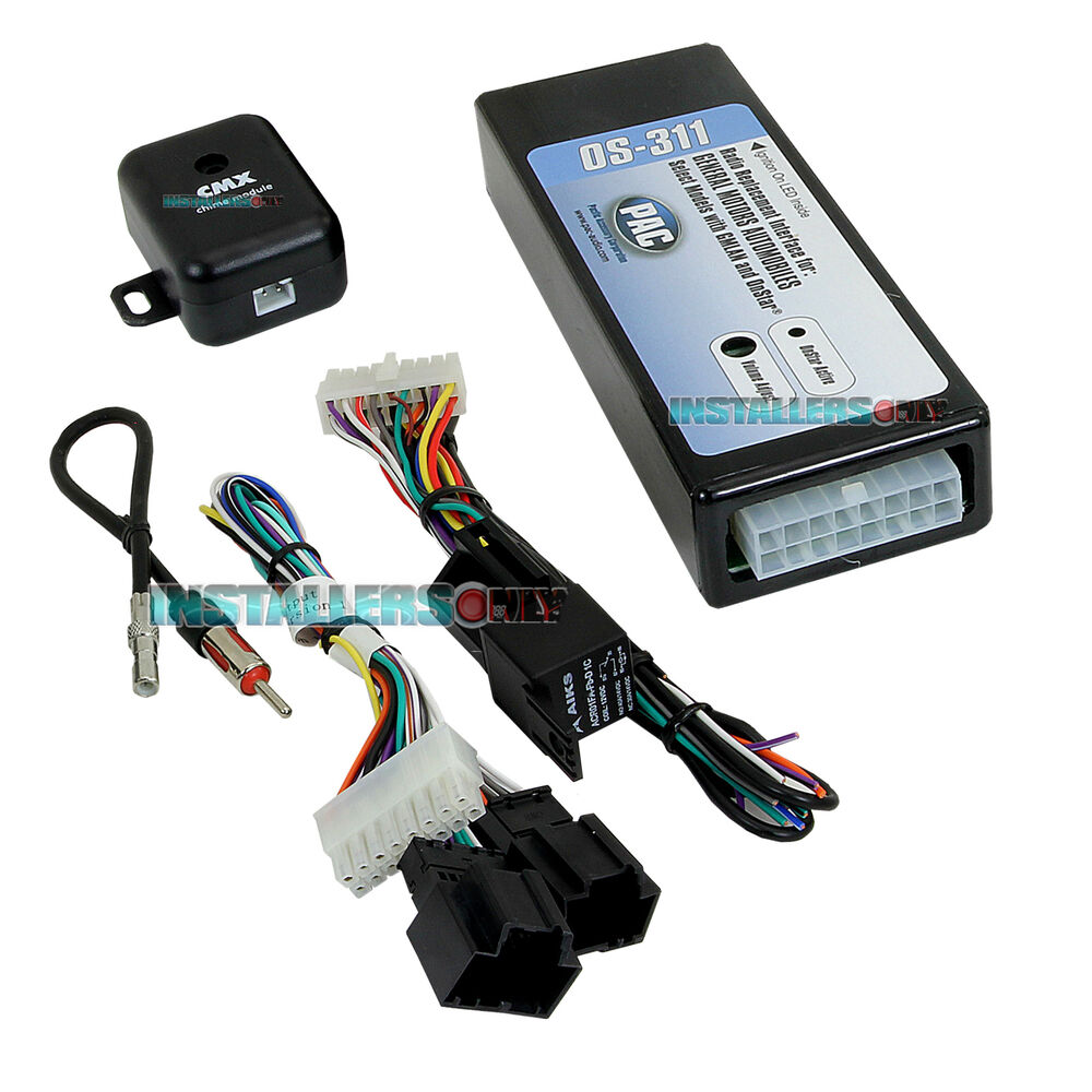 gm 11 bit onstar aftermarket radio wiring harness car stereo installation module ebay