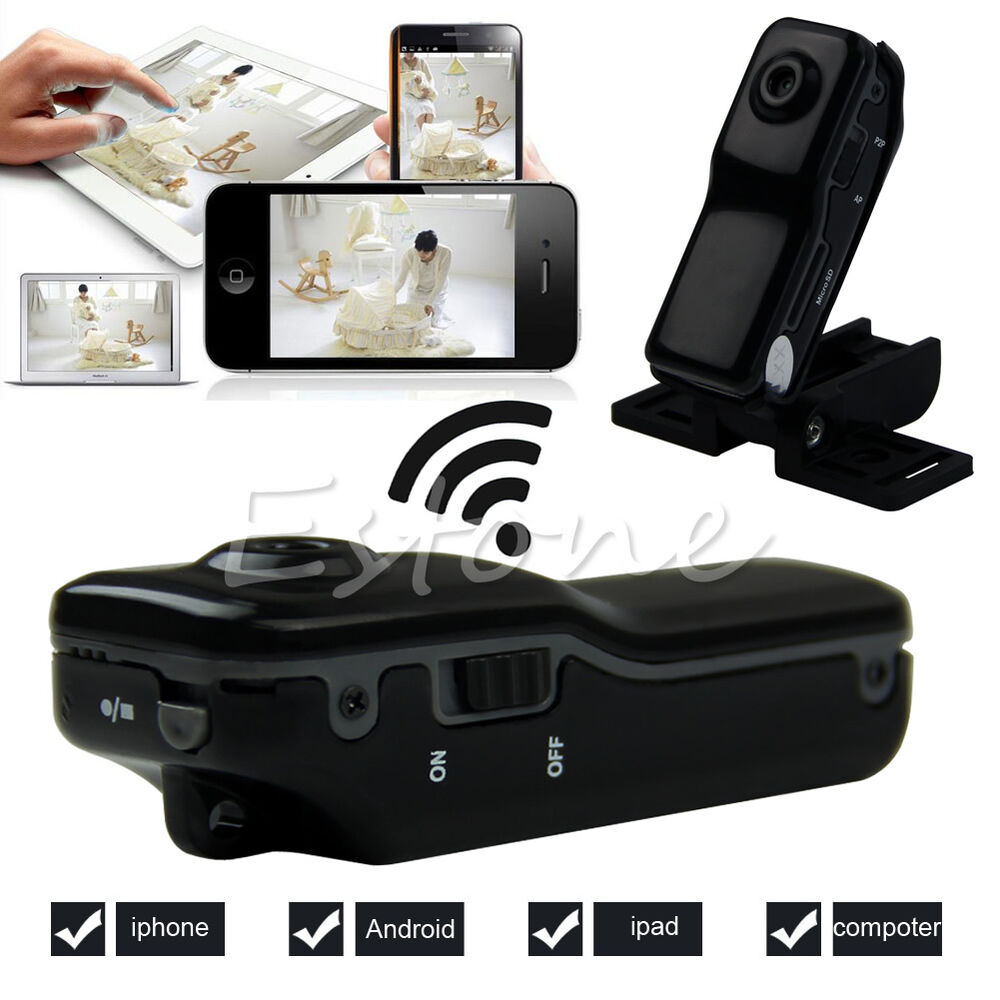 md81 mini wifi wireless hd spy camera remote monitor. Black Bedroom Furniture Sets. Home Design Ideas