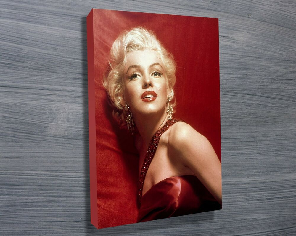Not Framed 12x16 Canvas Print Marilyn Monroe Pop Art Wall