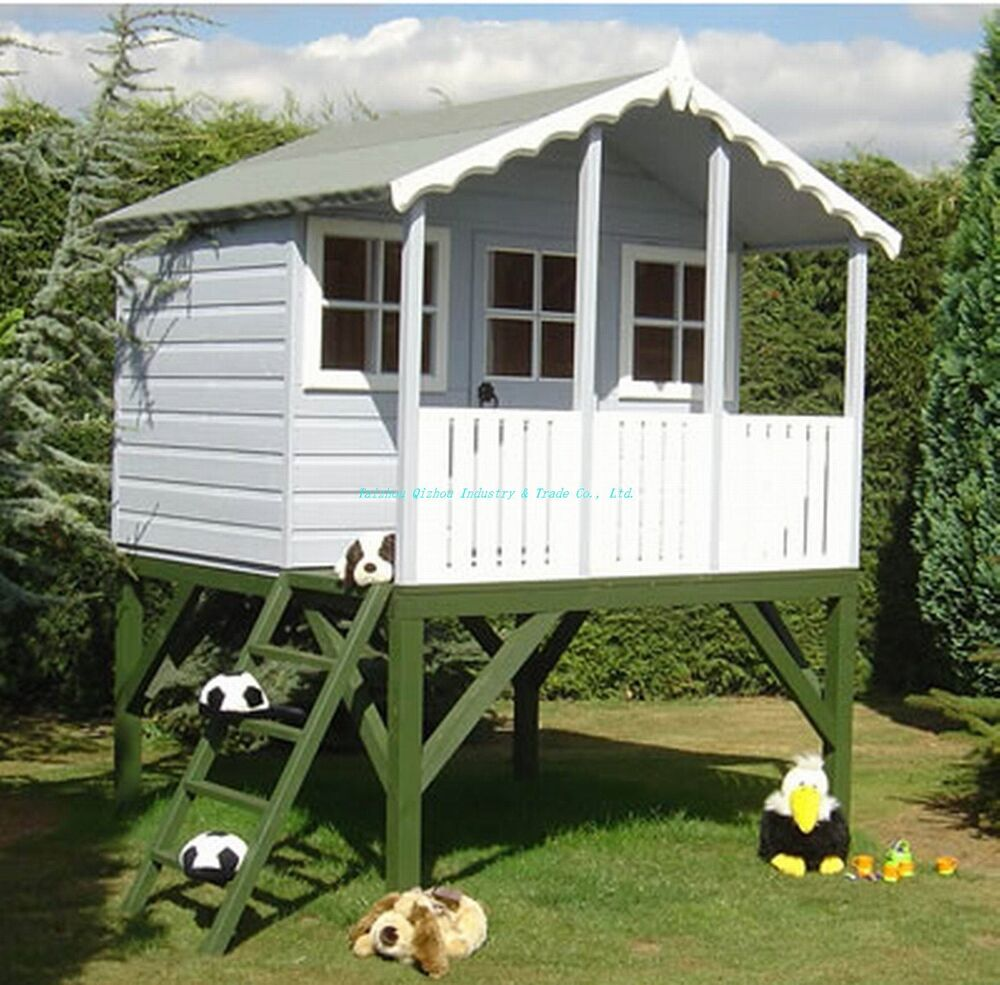 90 playhouse plans and accessories wendy house swingset for Outdoor playhouse plans