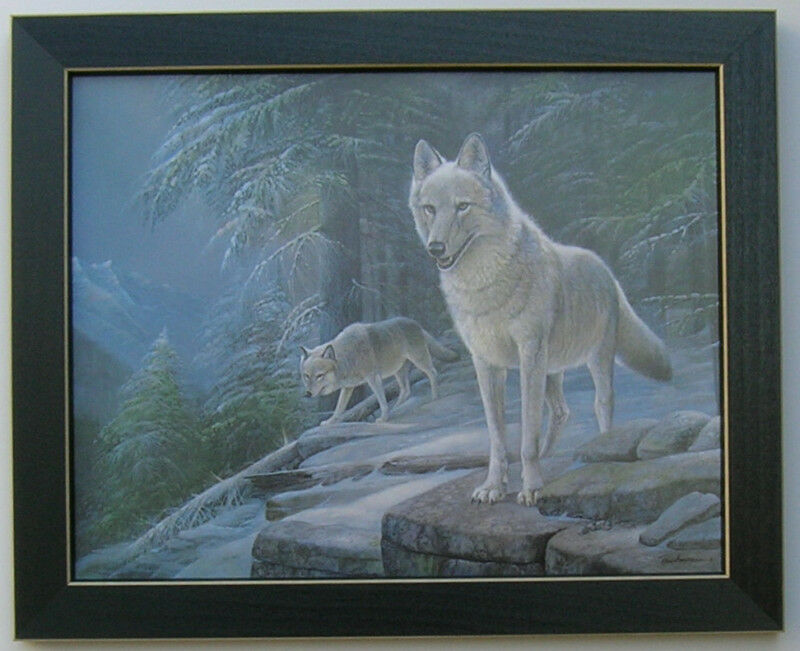 Wolf Pictures Western Art 11x14 Framed Country Pictures