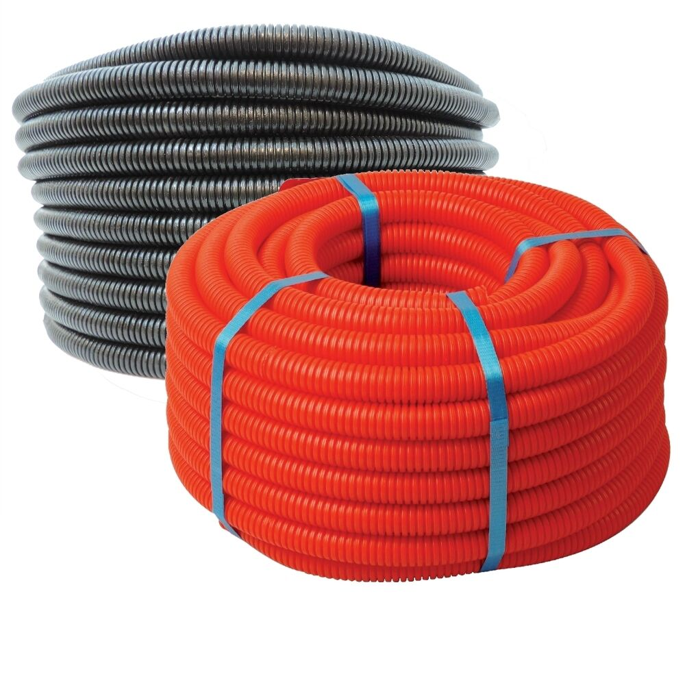 Flexible Wire Tubing : Quot flexible ldpe non split wire loom tubing
