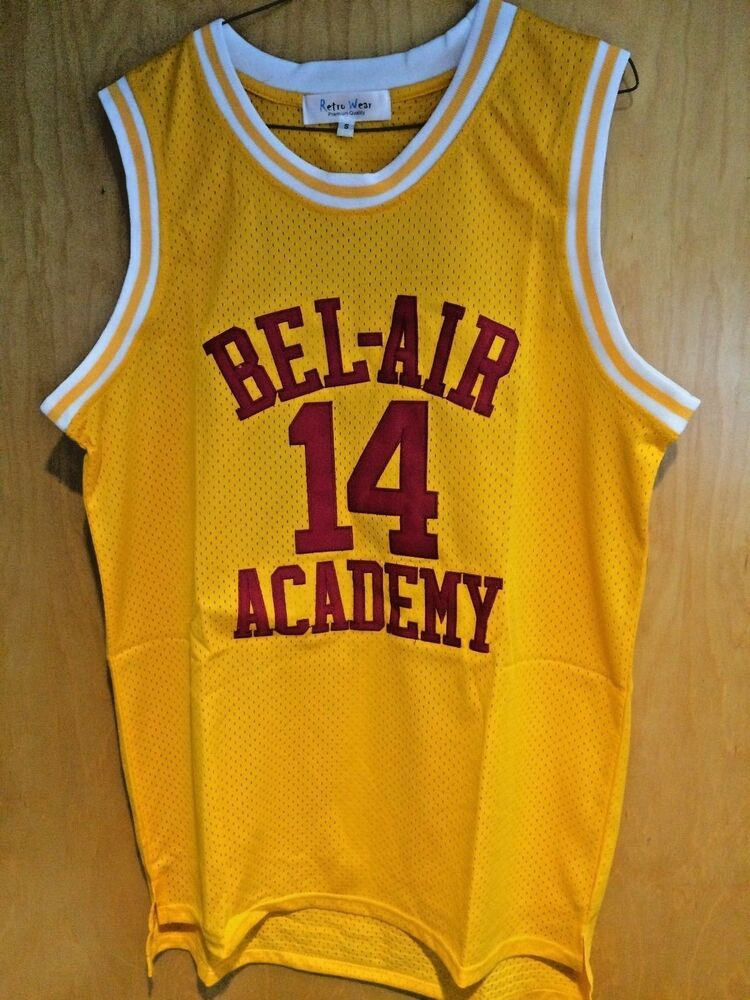 2b1ef2ba6362 Détails   Will Smith  14 The Fresh Prince Of Bel-Air Basketball Jersey  Maroon Medium Large