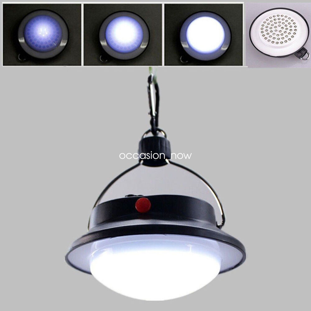 Ultra Bright Rechargeable 60 Led Camping Tent Light Battery Lantern Fishing Lamp Ebay