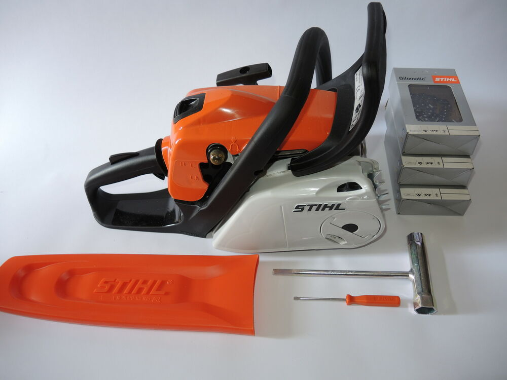 stihl ms 181 c be motors ge schwert s gekette neu ebay. Black Bedroom Furniture Sets. Home Design Ideas