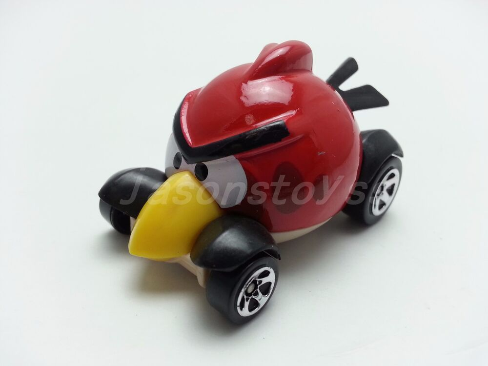 Mattel hot wheels angry birds red bird diecast toy car loose new in stock ebay - Angry birds toys ebay ...