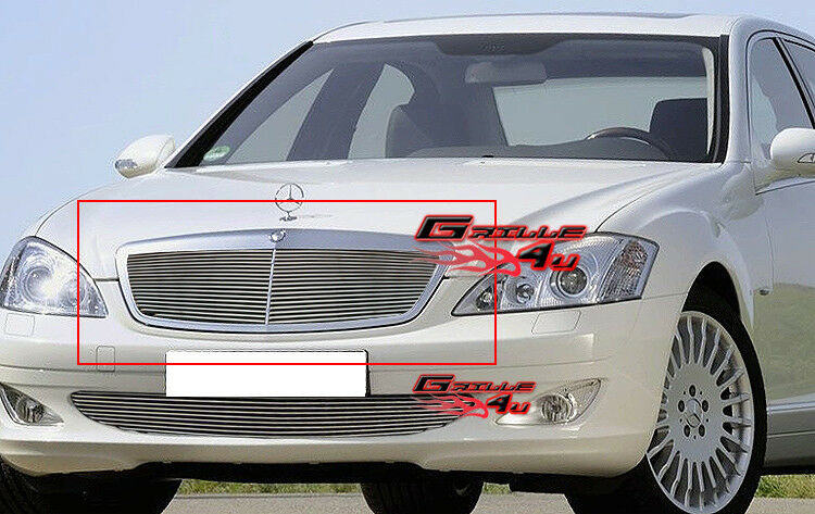 Aluminum billet grille for 07 11 2011 mercedes benz s550 for Mercedes benz s550 parts and accessories