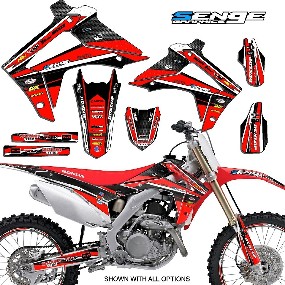 2004 2005 crf 250r graphics kit crf250r 250 r deco sticker for Sticker deco