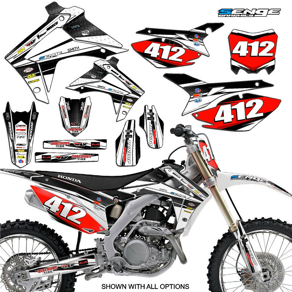 2006 Honda Crf450r: 2005 2006 2007 CRF 450X GRAPHICS KIT 450 X DECALS DECO