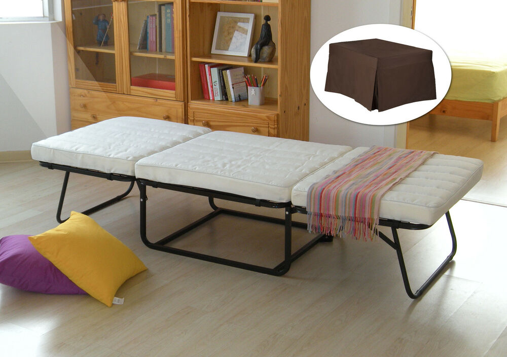 kings brand folding ottoman guest bed sleeper with