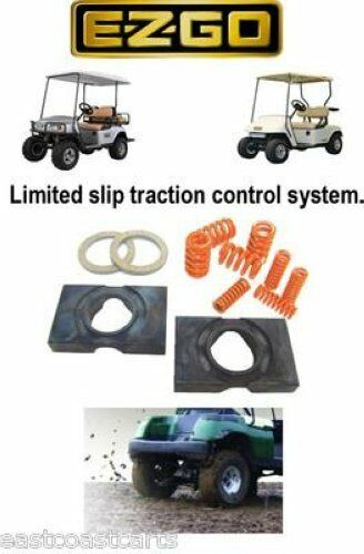 Ezgo gas golf cart limited slip posi traction control for Ez go golf cart electric motor repair