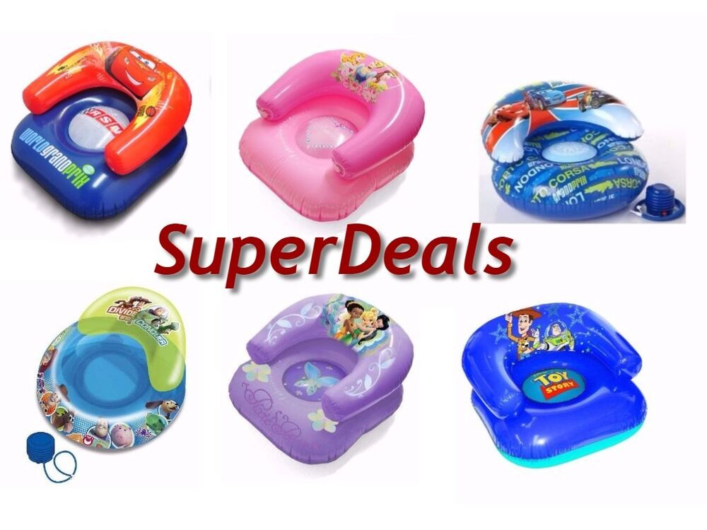 Disney Characters Kids Inflatable Chair Ebay