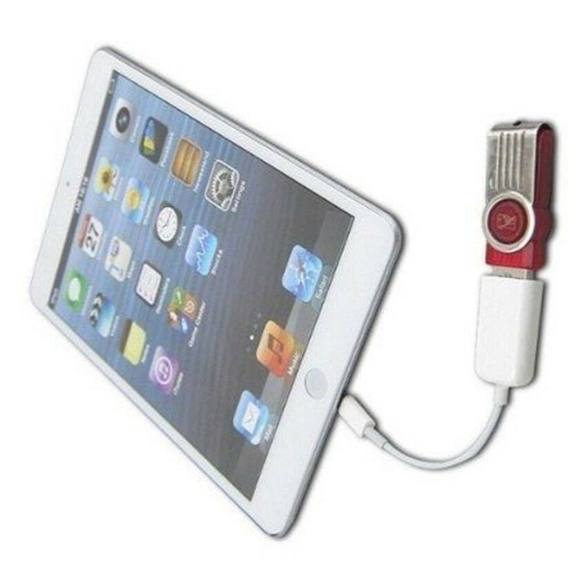 8 Pin Otg To Usb 2 0 Female Adapter Cable For Ipad 4 Ipad