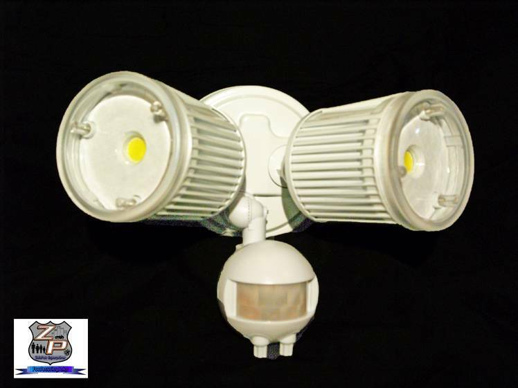 Led Motion Amp Photocell Sensor Outdoor Security Light