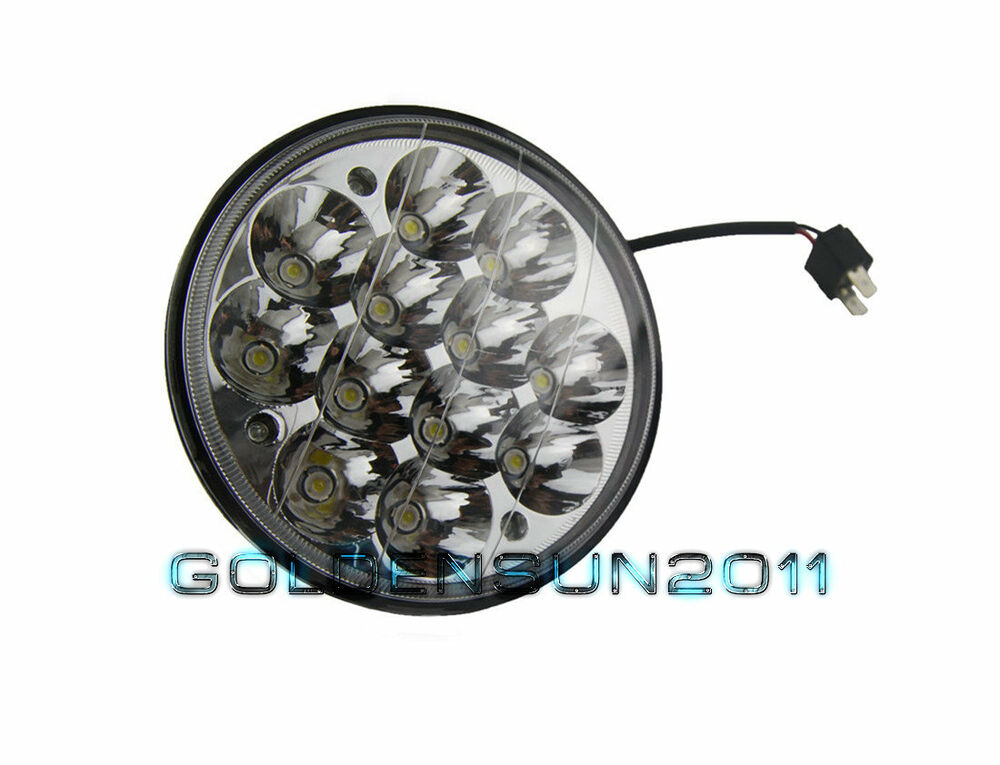 Sealed Beam 5 3 4 Led : Quot led hid cree light bulb crystal clear sealed beam