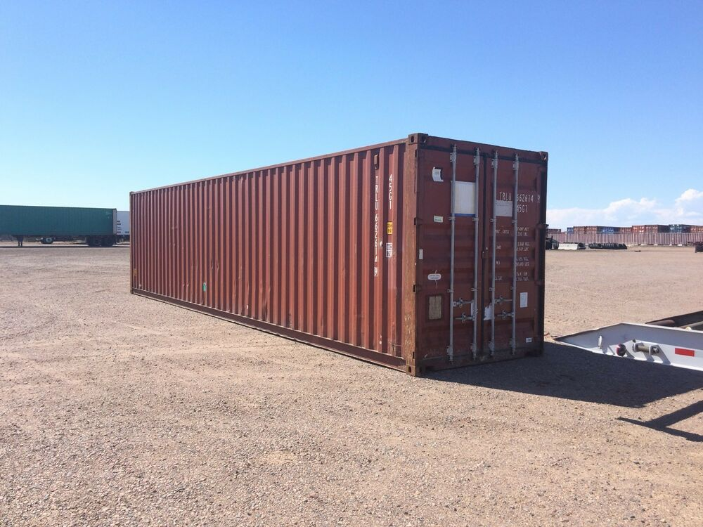 40 High Cube Cargo Ocean Shipping Storage Containers