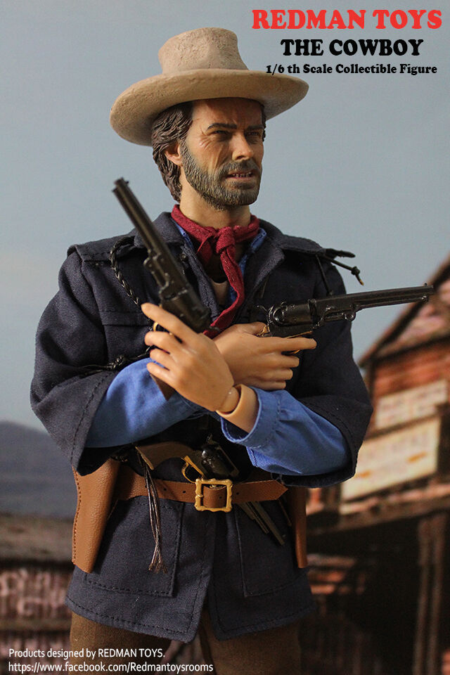 16 scale collectible figure redman toys clint eastwood