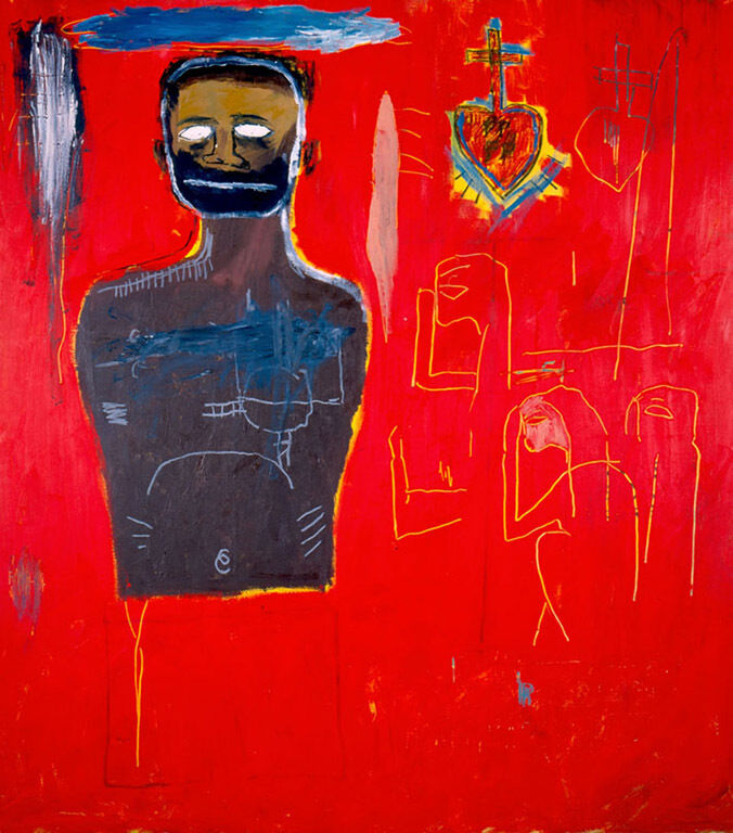 Oil painting reproduction jean michel basquiat untitled for Atlanta oil painting artists