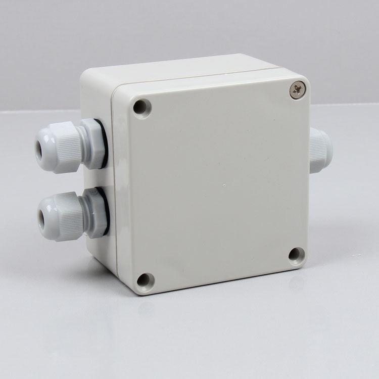 1pc 6 Terminal Abs Waterproof Junction Box Outdoor Cable