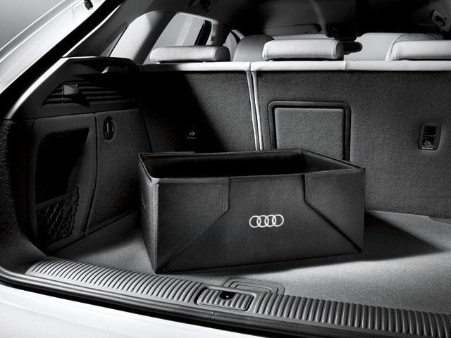 Audi 8u0061109 Collapsible Trunk Cargo Box Ebay