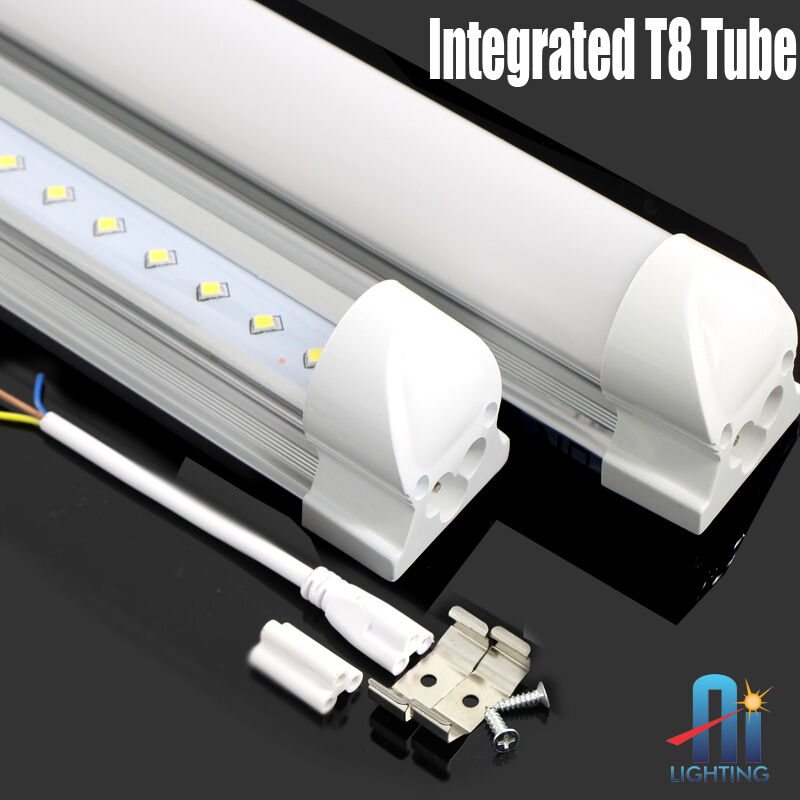 10x 4ft 18w T 8 Integrated Led Tube Light Replaces 60w