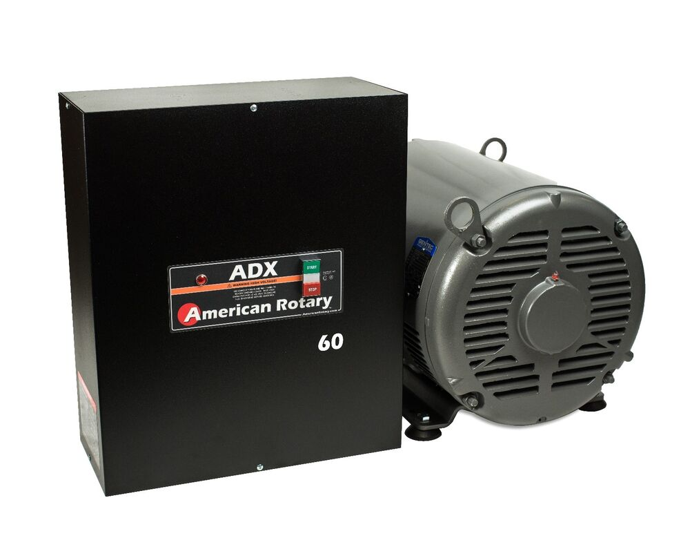 Extreme Duty Rotary Phase Converter Adx60 60 Hp Digital Smart Series Arco Roto Wiring Diagram Usa Made Ebay