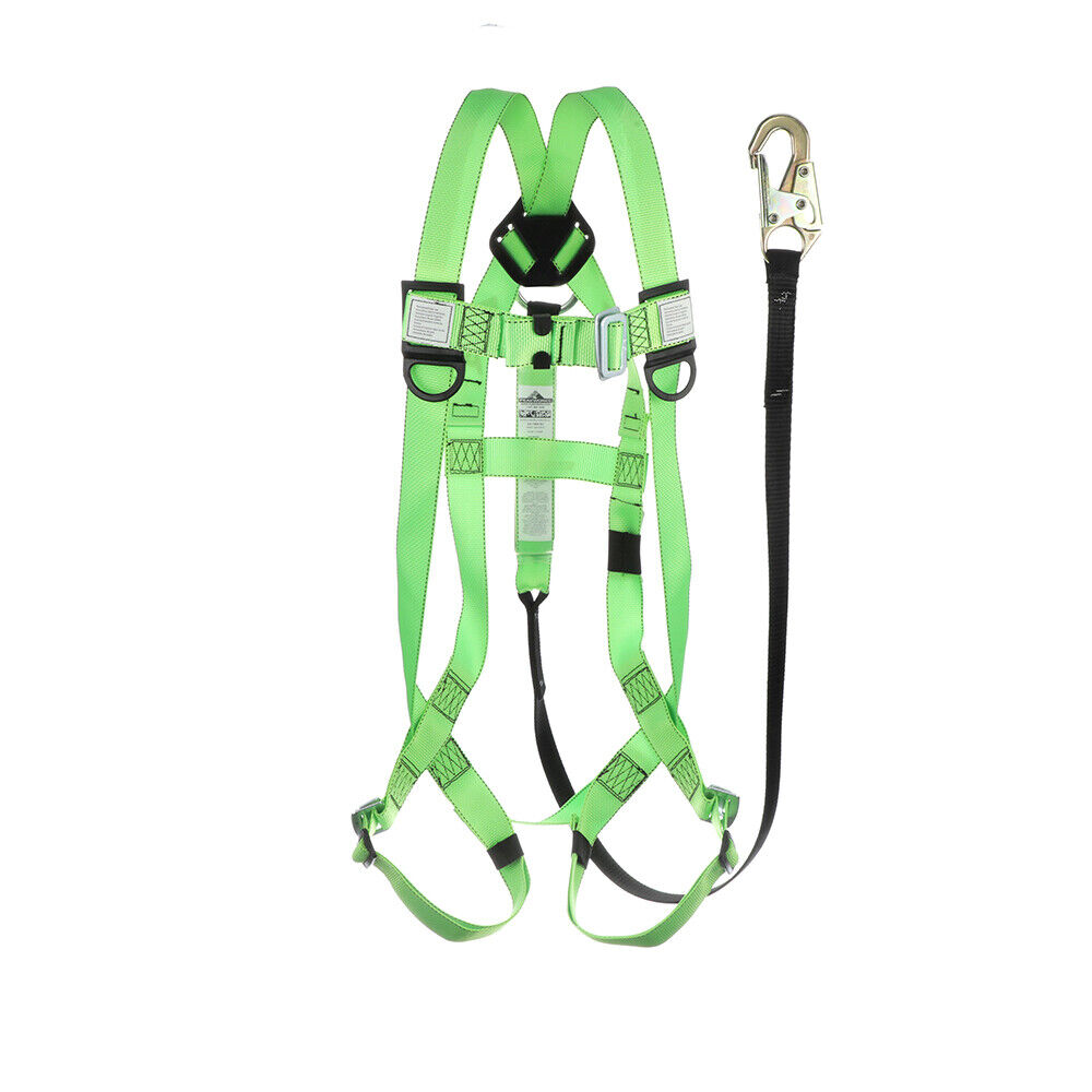 Safety Harness Aerial Lift All In One With Lanyard Kit