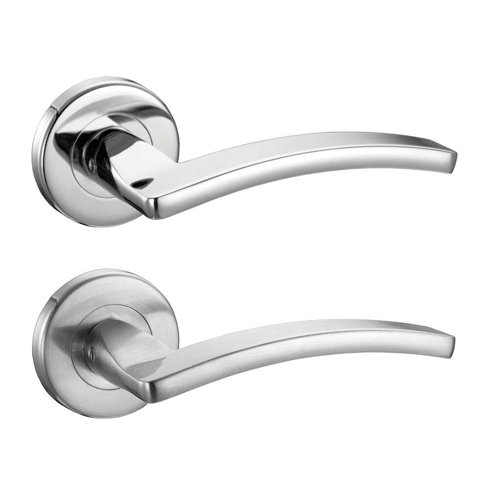 toledo internal door handles sets lever on rose polished. Black Bedroom Furniture Sets. Home Design Ideas