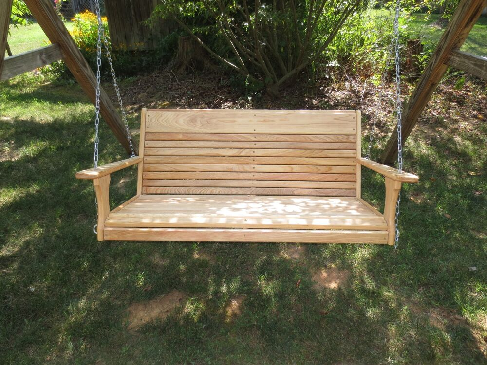 Cypress Porch Swing / Adults Swing/ Porch Swing/ Large