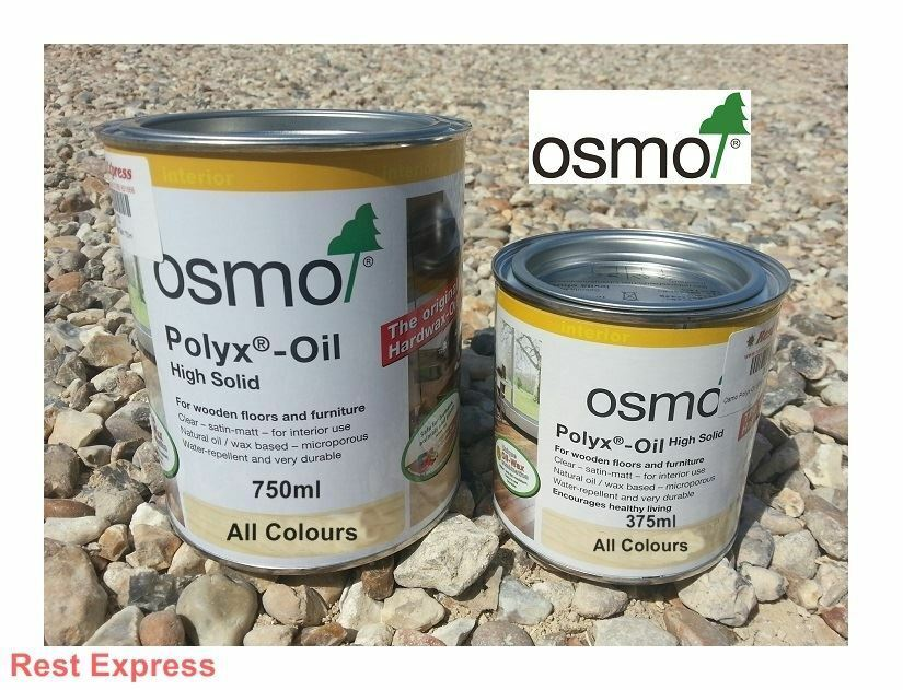 osmo polyx wood floor oil clear satin 3032 matt 3062 glossy 3011 raw 3044 ebay. Black Bedroom Furniture Sets. Home Design Ideas