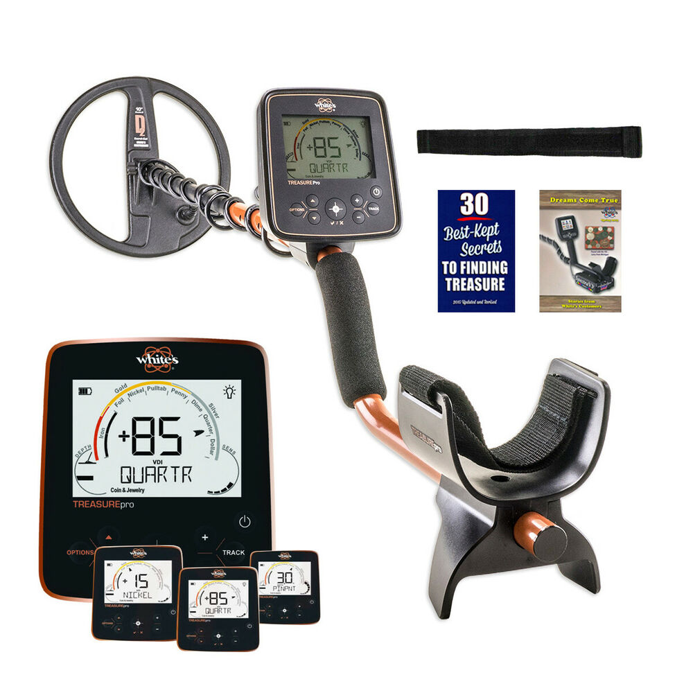 """Whites TreasurePro Metal Detector With Auto GB And 10"""" DD"""
